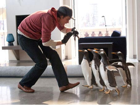 Jim Carrey In Mr Poppers Penguins
